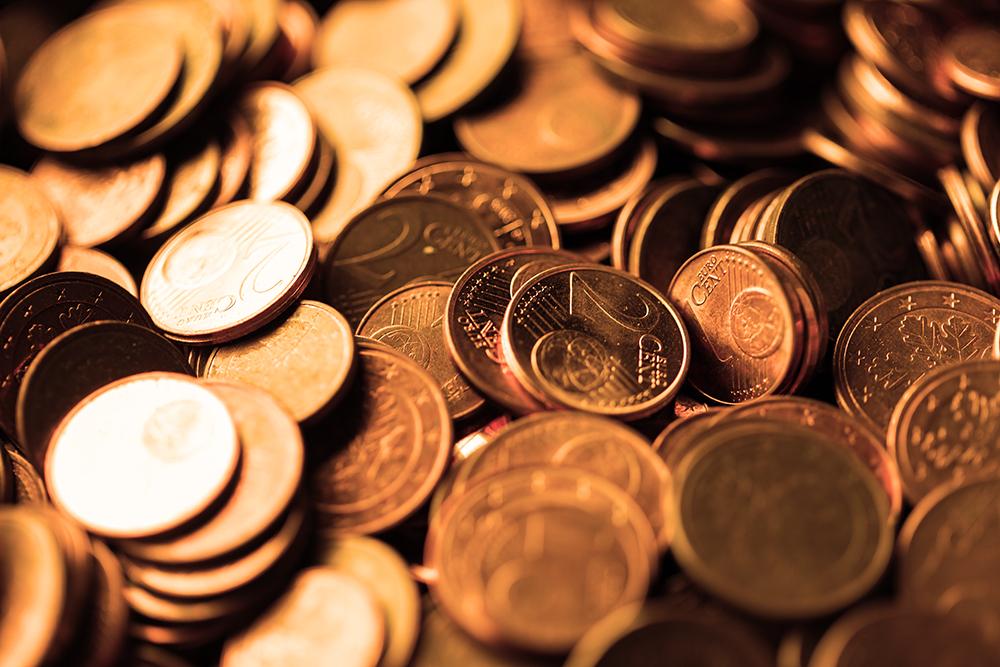 inzicht in je cashflow - muntjes op een hoop